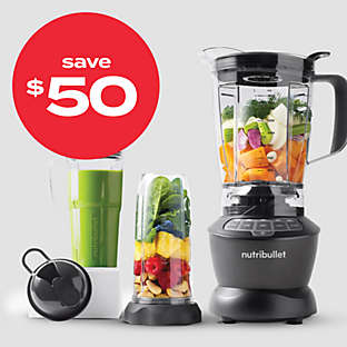 $50 off NutriBullet® Blender Combo with Single Serve Cups