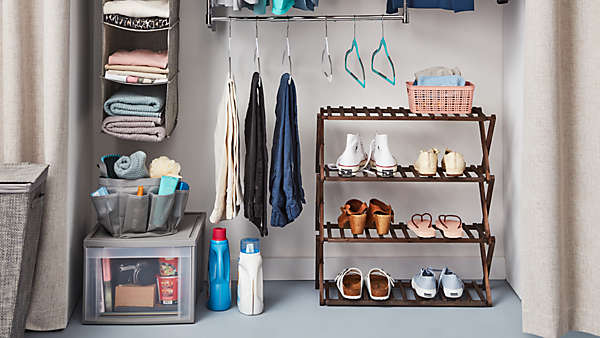 25% off select closet storage