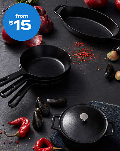 cookware from $15
