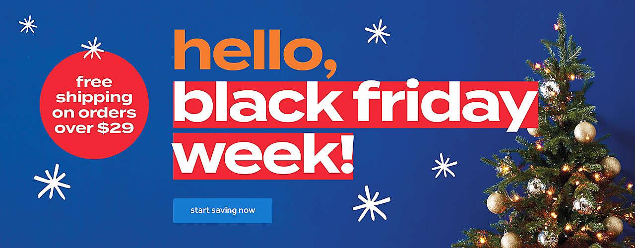 black friday week!
