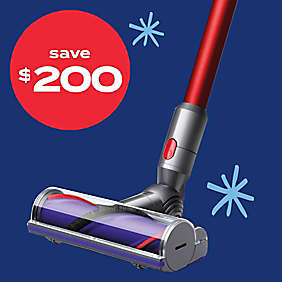Up to $200 off Dyson Vacs
