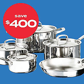up to $400 off cookware