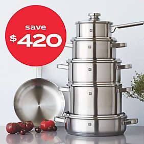 up to $420 off cookware