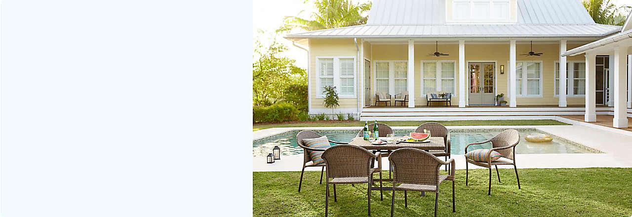 20% off select patio furniture