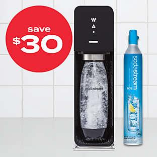 $30 off SodaStream® SOURCE™ starter kit