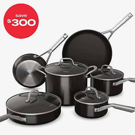 $300 off Ninja™ Foodi™ NeverStick™ Aluminum 10-Piece Cookware Set