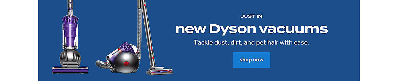 Tackle dust, dirt, and pet hair with ease.