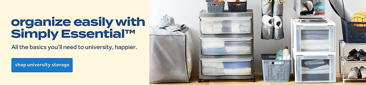 organize easily with Simply Essential™