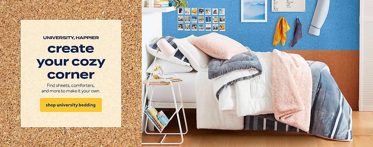 shop university bedding