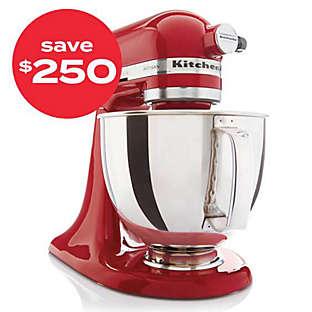 save $250 kitchen aid stand mixer