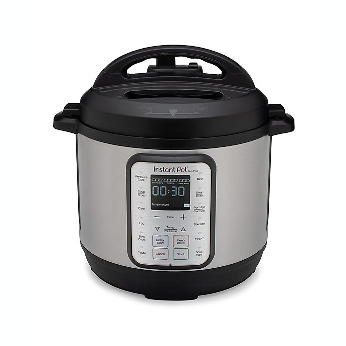 Alternate image 1 for Instant Pot® 9-in-1 Duo Plus Programmable Electric Pressure Cooker