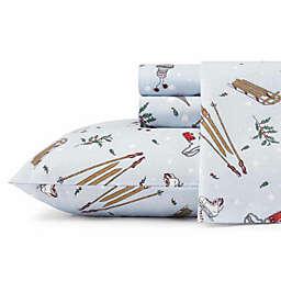 Eddie Bauer® Snow Days Flannel Sheet Set