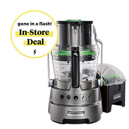 $50 off Hamilton Beach® Professional Food Processor. View Deals