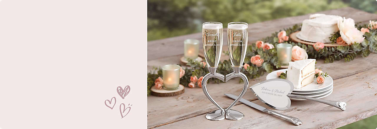 Unique Wedding Gifts Canada: Bedding, Bath Towels, Cookware, Fine China, Wedding & Gift