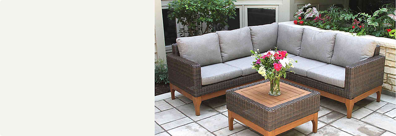 Shop Patio Furniture - Outdoor Furniture, Patio Furniture Sets, Outdoor Décor, Cooking