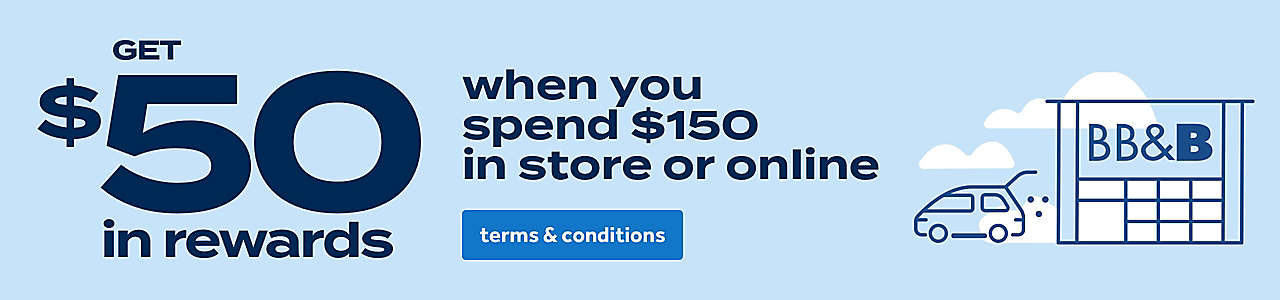 Get $50 in rewards when you spend $150