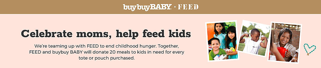 Celebrate moms, help feed kids
