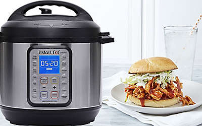 Instant Pot 9-in-1 Duo Plus Programmable Electric Pressure Cooker