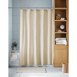 Haven™ 72-Inch x 98-Inch Double Gauze Organic Cotton Shower Curtain in Pumice