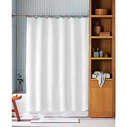 Haven™ 72-Inch x 72-Inch Mini Waffle Shower Curtain in White