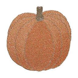 New Beaded Pumpkin Placemat