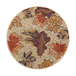 New Beaded Leaf Placemat
