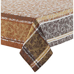 Acorns and Leaves Cotton Jacquard Tablecloth