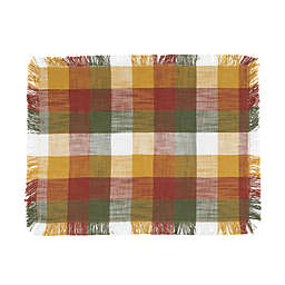 Check Fringe Placemat