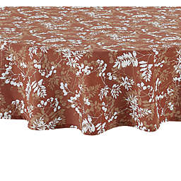 Autumn Foliage Round Tablecloth