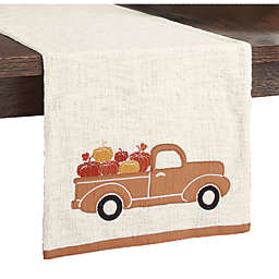 Truck Applique Table Runner