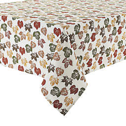 Stamped Leaves  Tablecloth