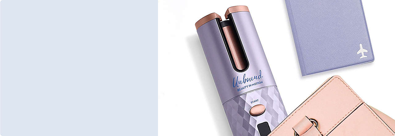 Chargeable, cordless hair tools for on-the go styling.