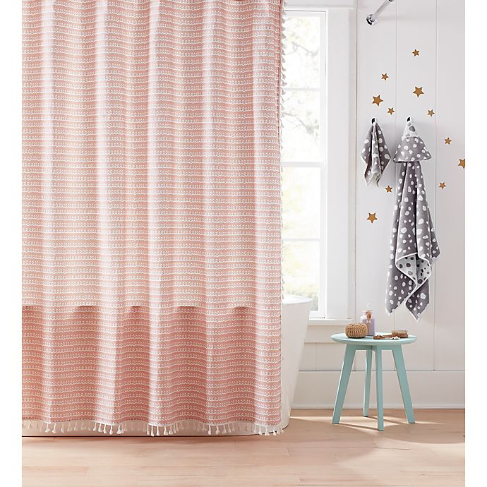 Alternate image 1 for Marmalade™ 72-Inch x 72-Inch Leah Shower Curtain in Pink
