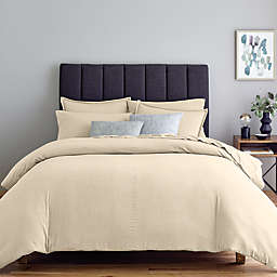 Nestwell™ Soft and Cozy Heathered 3-Piece Full/Queen Duvet Cover Set in Oatmeal