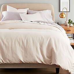 Nestwell™ Washed Linen Cotton 3-Piece King Comforter Set in Blush