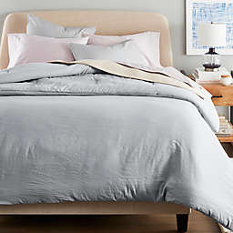 Nestwell™ Washed Linen Cotton 3-Piece Full/Queen Comforter Set in White