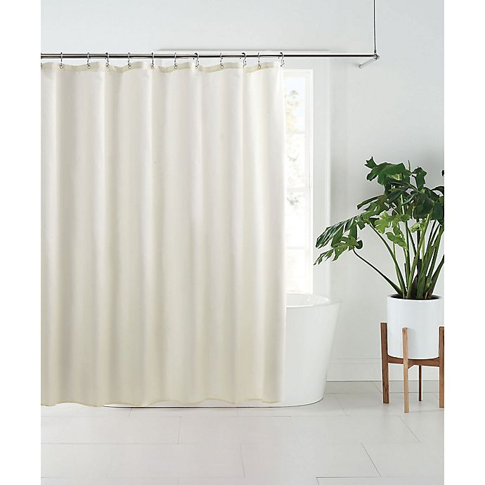 Alternate image 1 for Nestwell™ Fabric Shower Curtain Liner