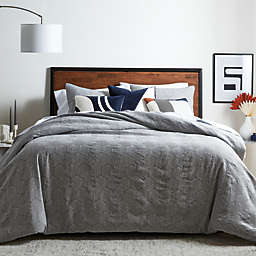 Studio 3B™ Abstract Geometric 3-Piece King Duvet Cover Set in Grey