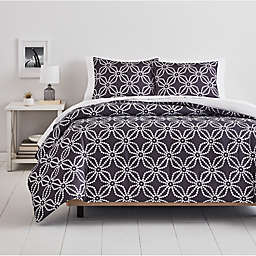 Simply Essential™ Dotted Medallion 2-Piece Twin/Twin XL Comforter Set in Grey