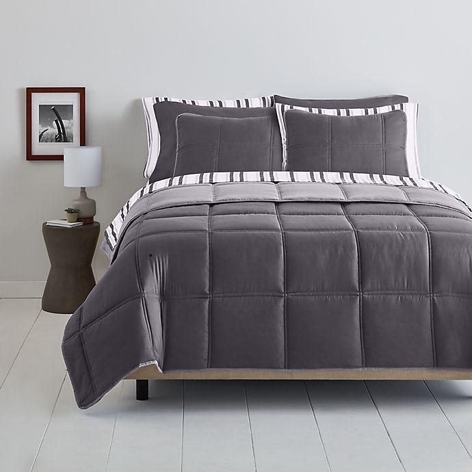 Alternate image 1 for Simply Essential™ Boxstitch 9-Piece Comforter Set