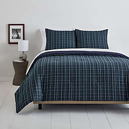 Simply Essential™ Plaid 3-Piece Duvet Cover Set