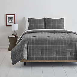Simply Essential™ Windowpane 3-Piece Duvet Cover Set