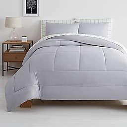 Simply Essential™ Reed Windowpane 7-Piece Comforter Set