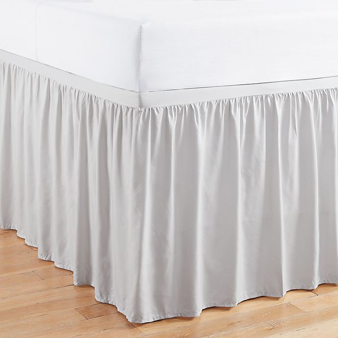 Alternate image 1 for Simply Essential™ Ruffled Bed Skirt