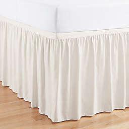 Simply Essential™ Full/Full XL Ruffled Bed Skirt in White