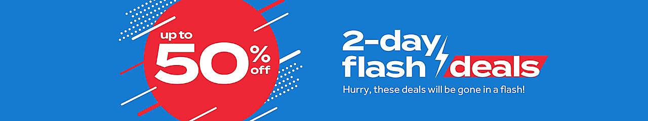 2 day flash deals