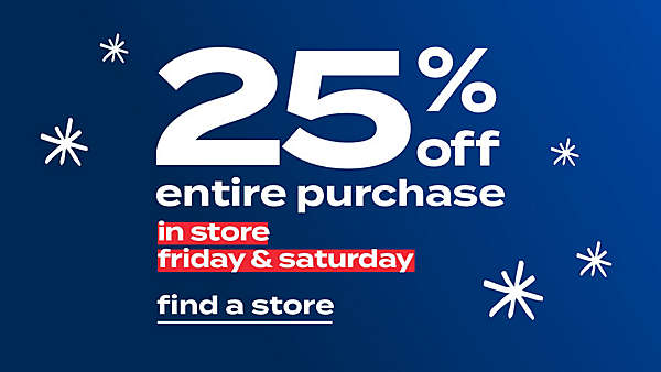 Valid 11/27–11/28. No coupon needed. Standard coupon exclusions apply. view details