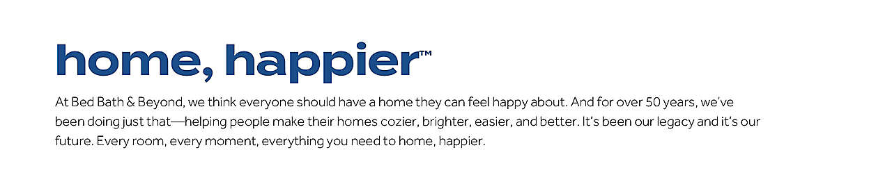 home, happier™