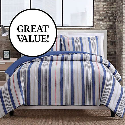 Fashion Comforter starting at $14.99, shop now while supplies last. Shop Now