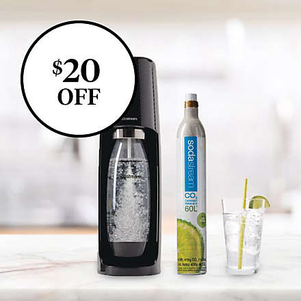 Save on sodastream® Fizzi™ One-Touch Sparkling Water Makers. Shop Now